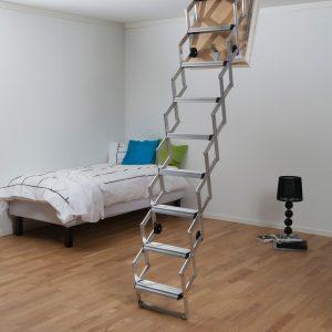 Attic Aluminium Ladder