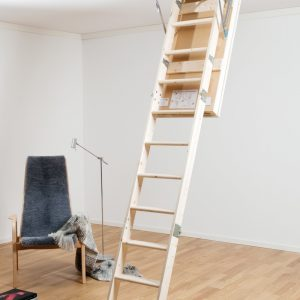 Attic Wooden Ladder