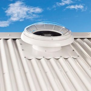 Electric Powered Roof Ventilation